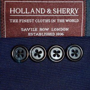 40R Tom James Royal Holland Sherry TAILORED SUIT
